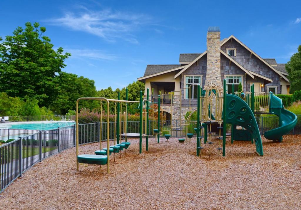 playground and pool